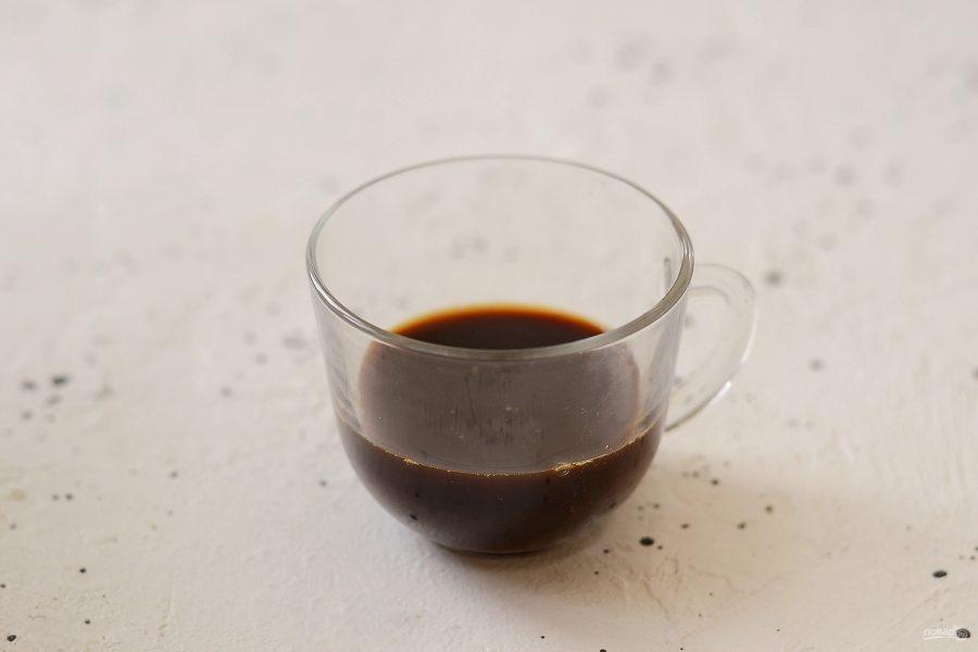 Кофейная пропитка для бисквита - фото шаг 3