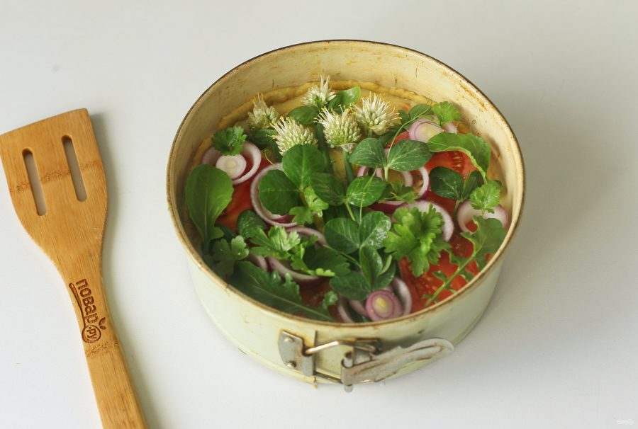 Лоранский пирог с рыбой - фото шаг 13
