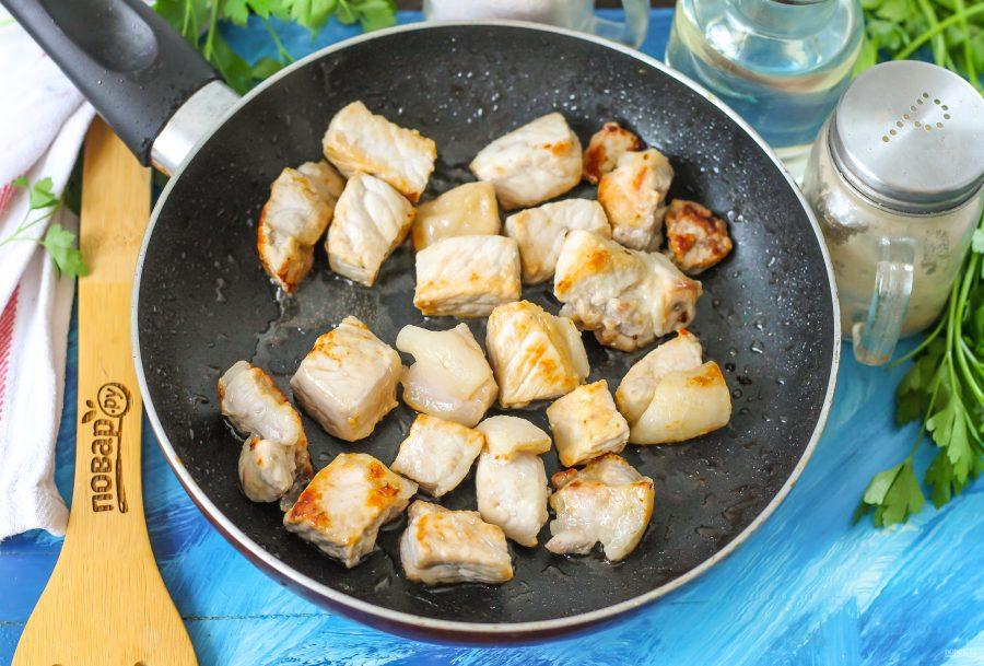 Жареха из свинины - фото шаг 4