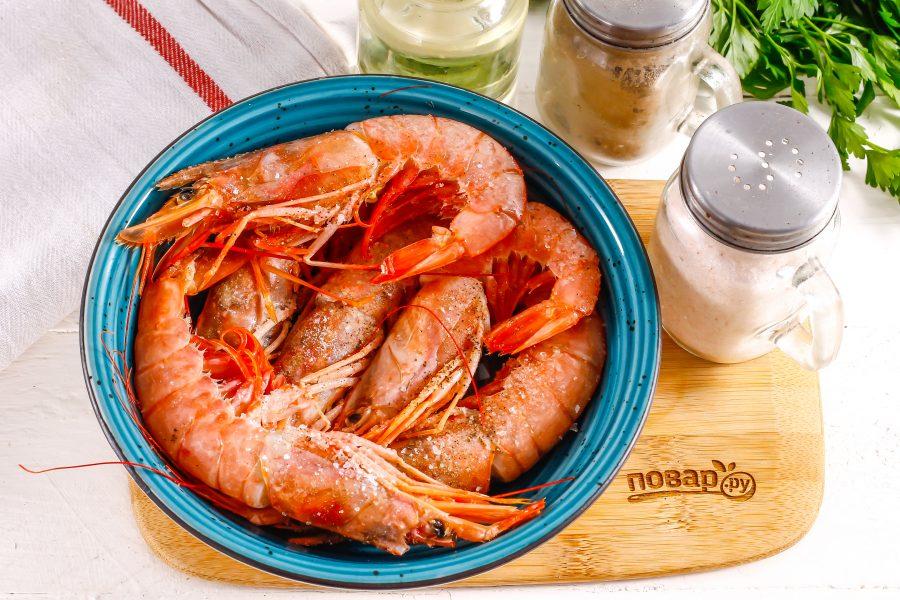 Аргентинские креветки на гриле - фото шаг 2