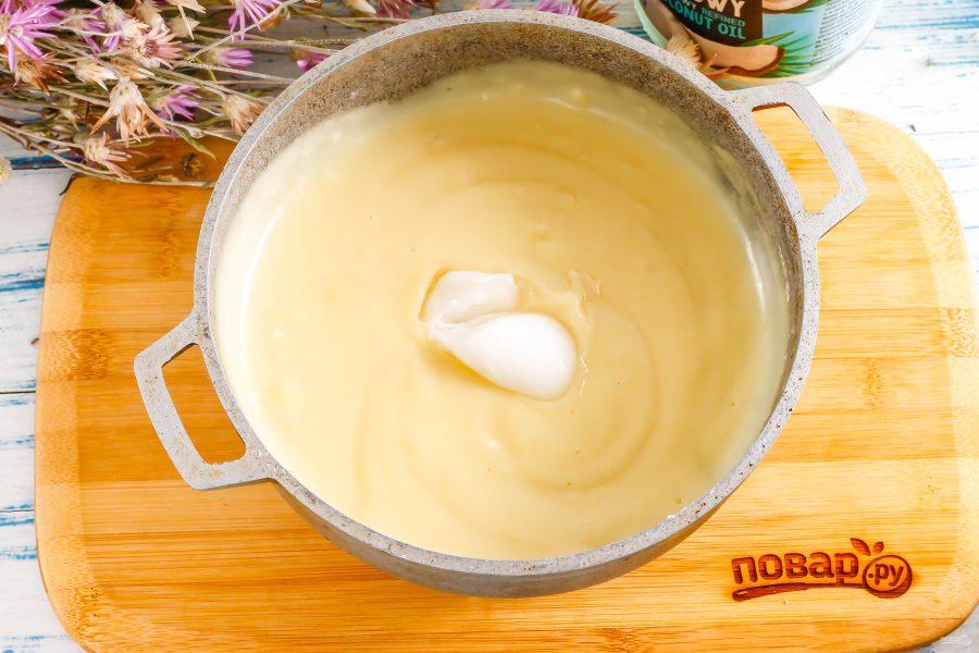 Кокосовый крем для торта - фото шаг 6