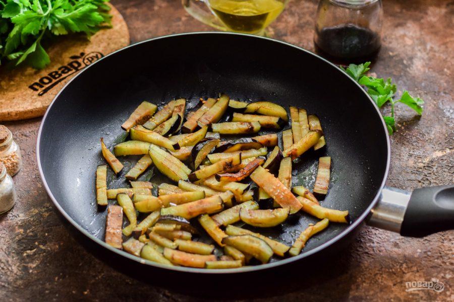 Баклажаны с креветками - фото шаг 4