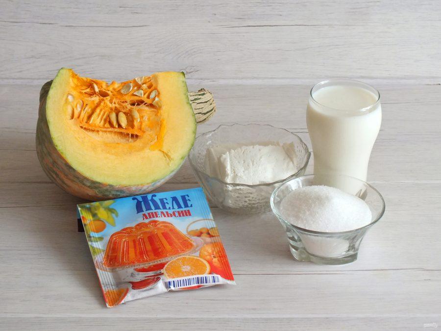 Десерт из творога и тыквы - фото шаг 1
