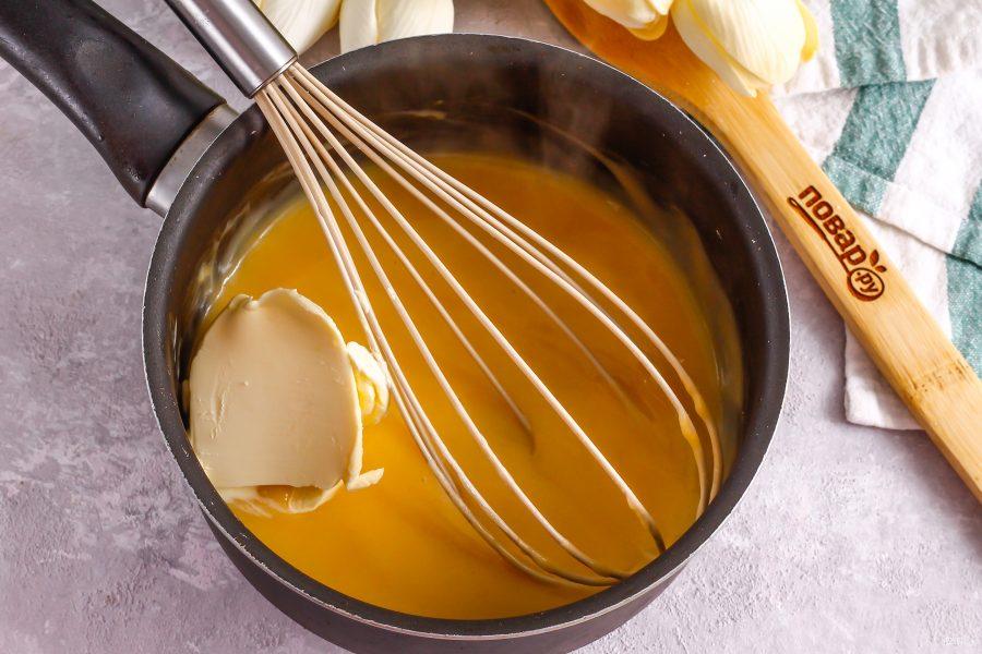 Тыквенный крем для торта - фото шаг 6