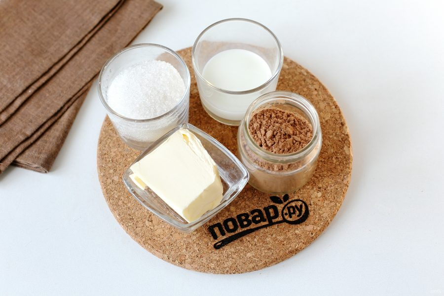 Шоколадная паста за 2 минуты - фото шаг 1