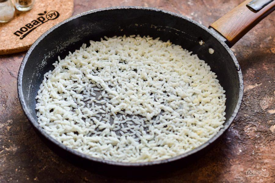 Салат с мидиями и рисом - фото шаг 3