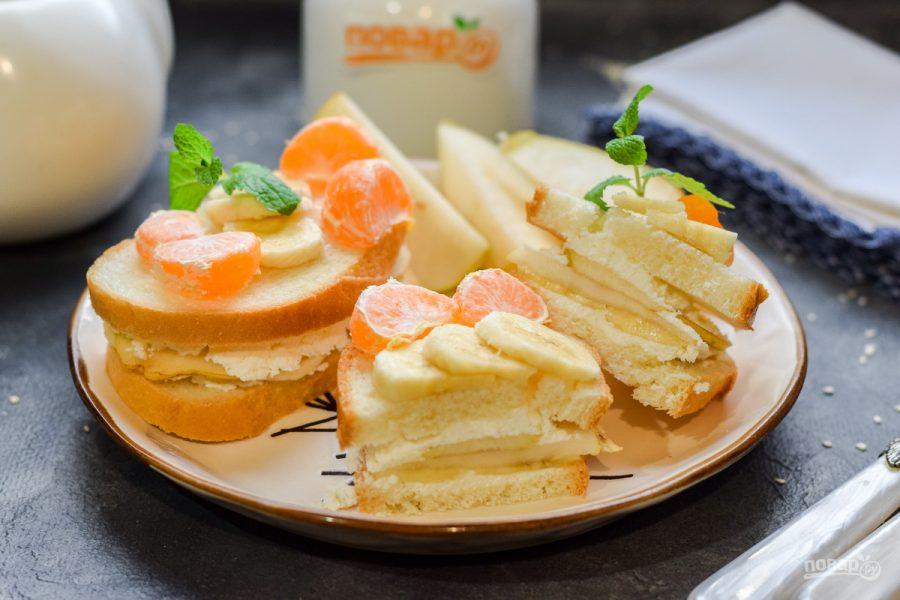 Фруктовый сэндвич - фото шаг 6