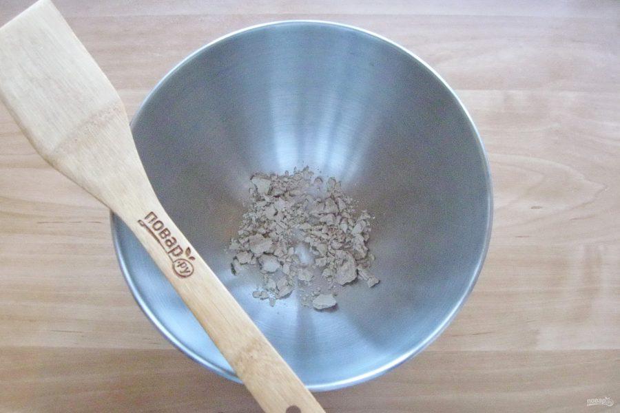 Кулебяка с мясом и грибами - фото шаг 5