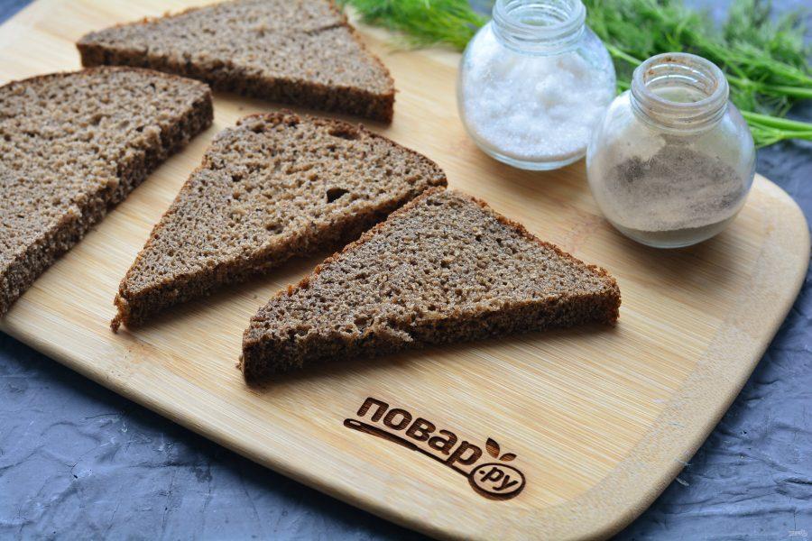 Бутерброды с молоками сельди - фото шаг 2