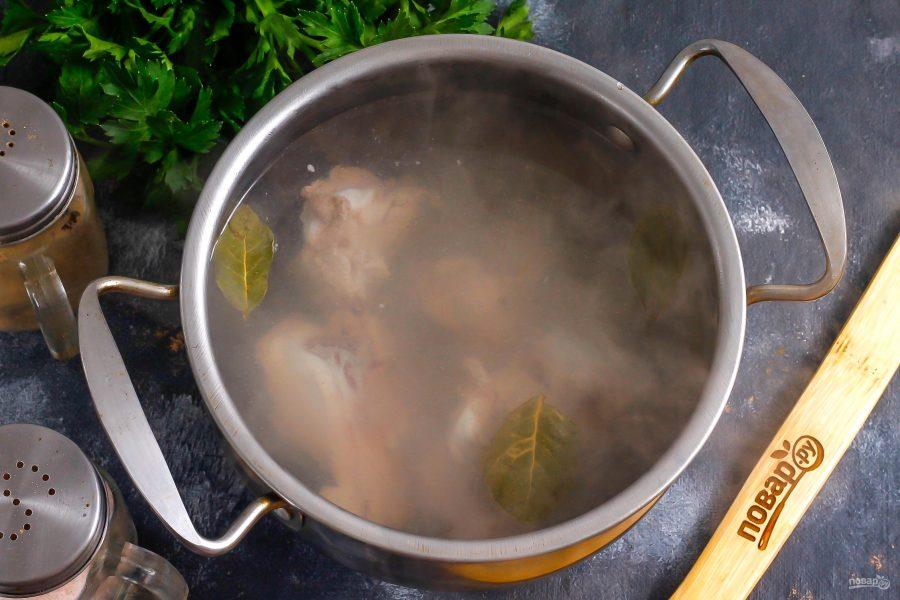 Армянский суп из баранины - фото шаг 3