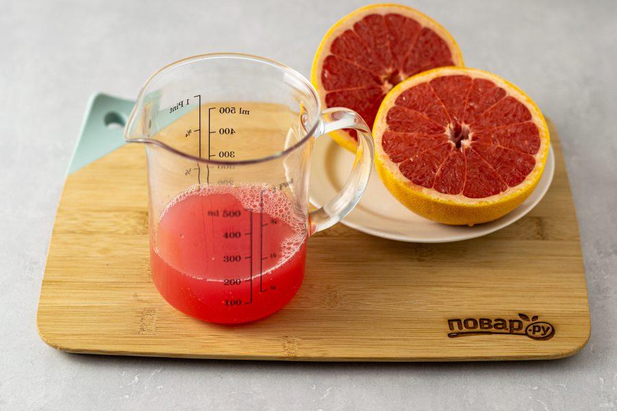 Мармелад из грейпфрута - фото шаг 2