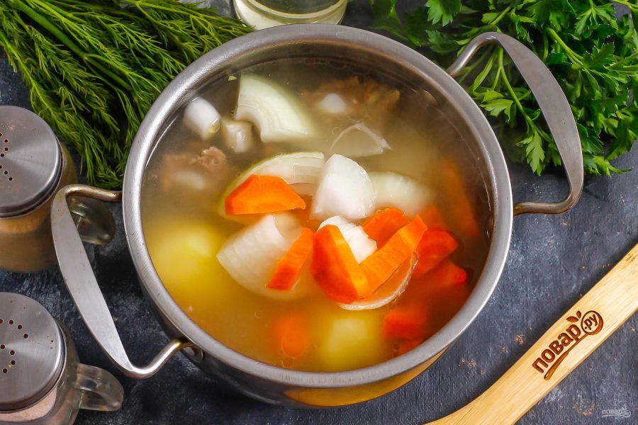 Армянский суп из баранины - фото шаг 5