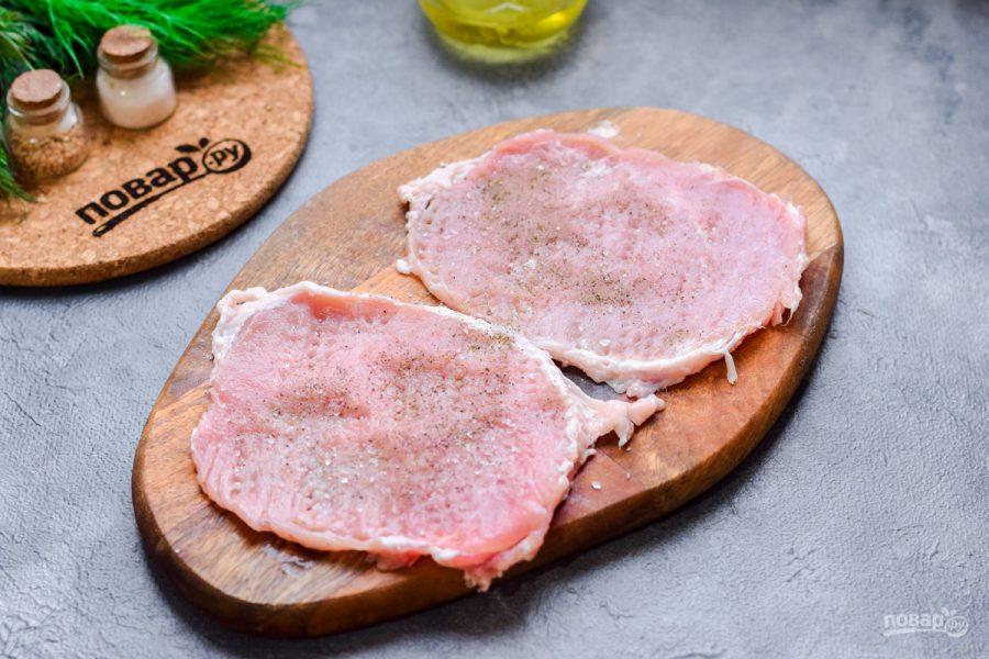 Мясо по-французски с горчичным соусом - фото шаг 4