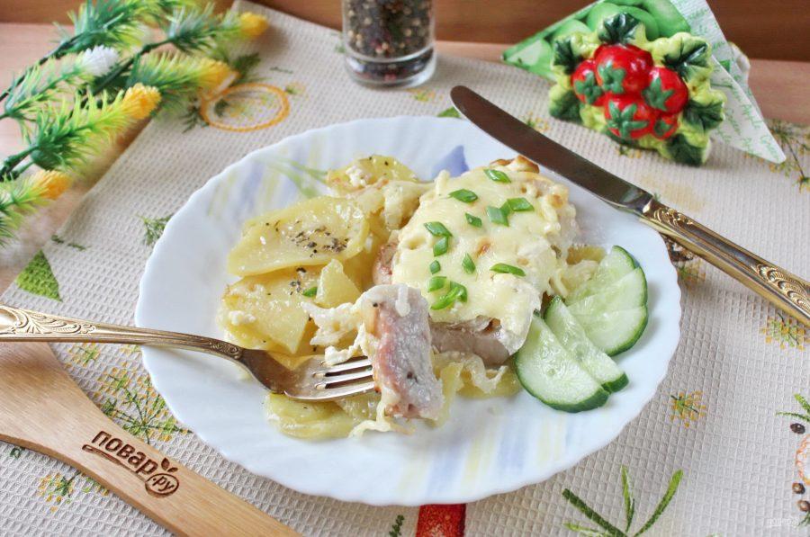 Мясо по-французски из свиной корейки - фото шаг 10