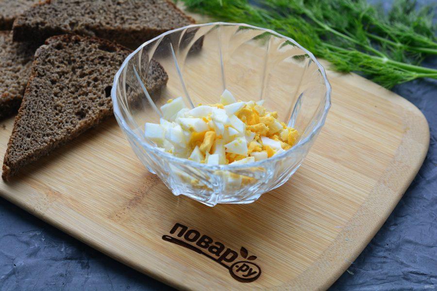 Бутерброды с молоками сельди - фото шаг 3