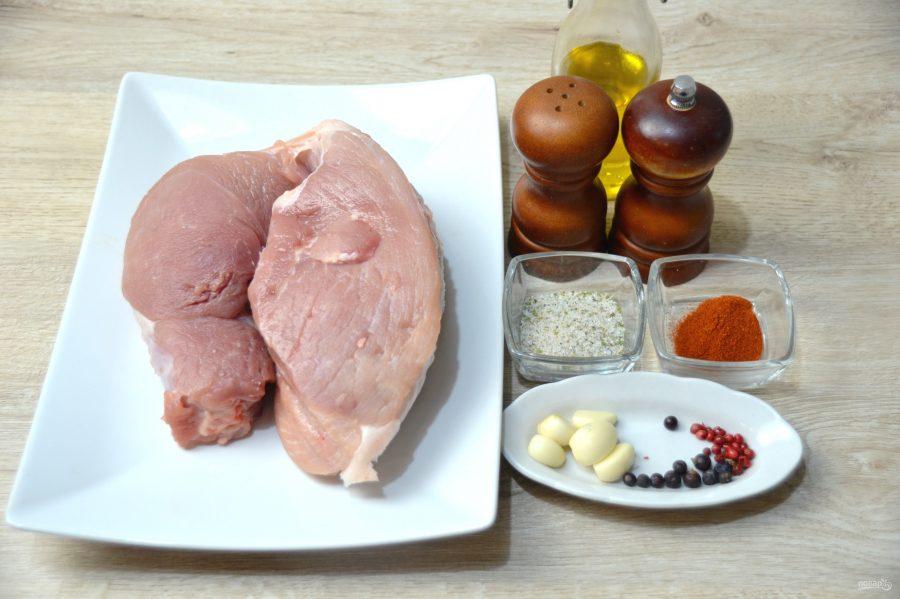 Буженина из свиной лопатки - фото шаг 1