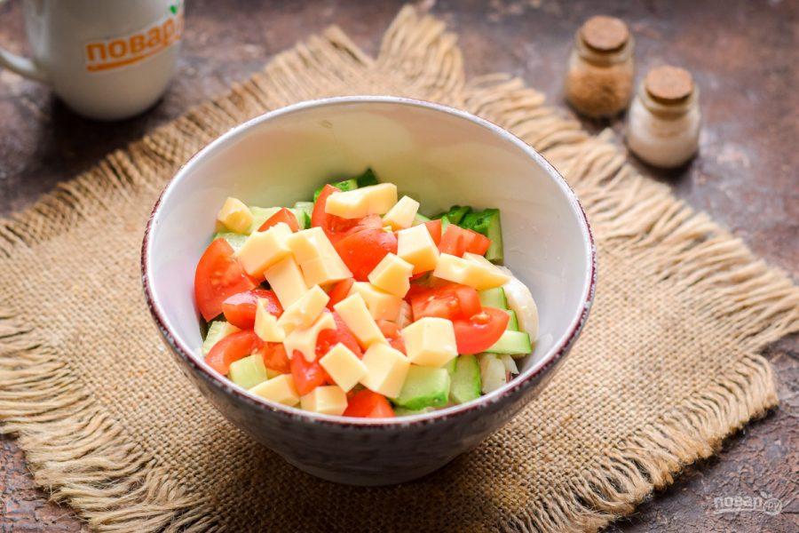 Салат из морского коктейля - фото шаг 4