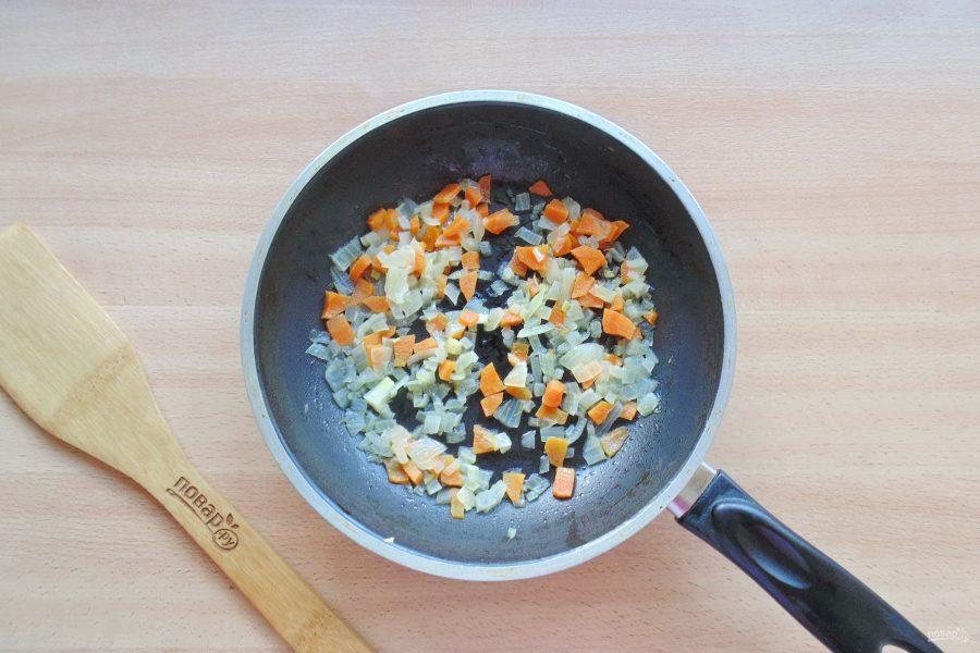 Морской окунь с рисом в духовке - фото шаг 5