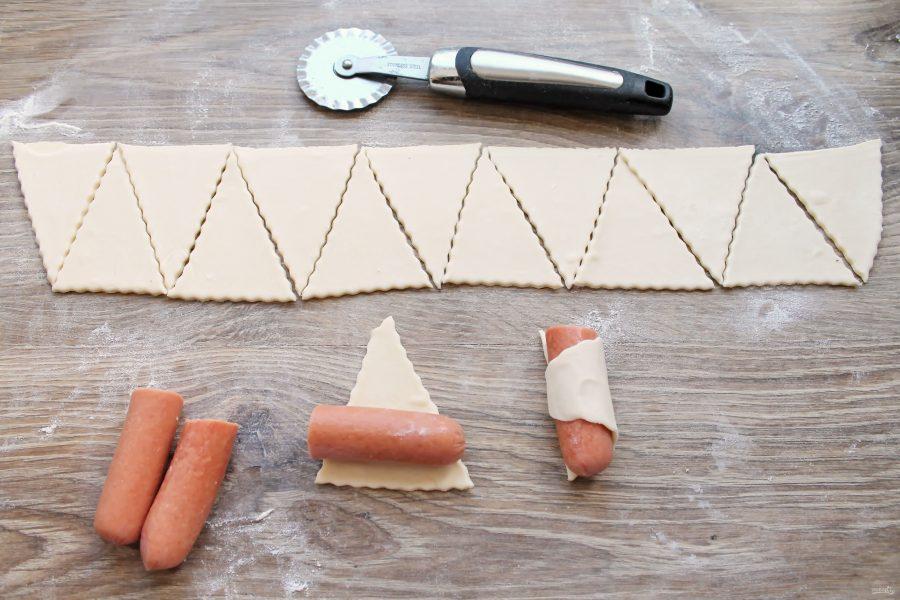 Фондю с сосисками - фото шаг 3