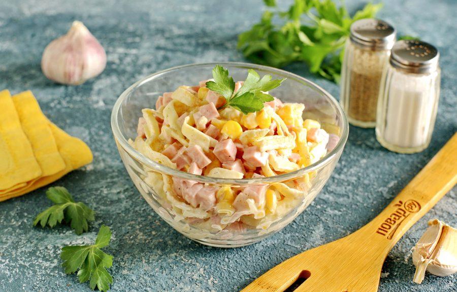 Салат за 10 минут - фото шаг 9