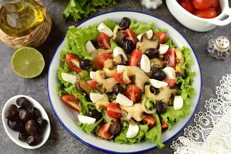 Салат с рапанами - фото шаг 8