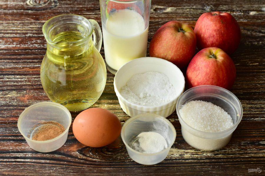 Яблочные донатсы - фото шаг 1