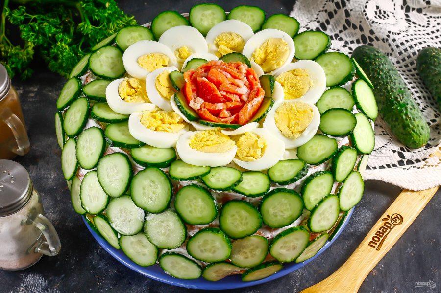 Скандинавский закусочный торт - фото шаг 8