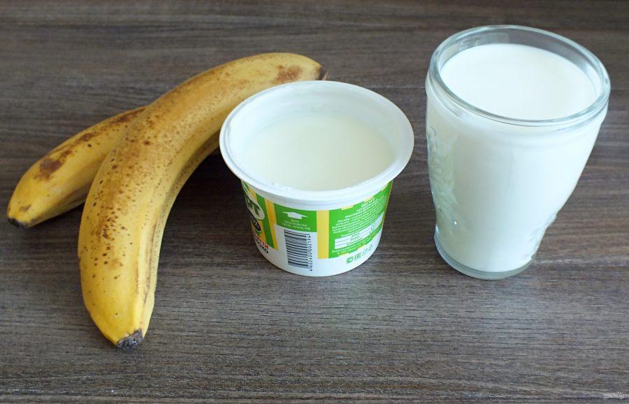"""Домашний йогурт """"Банановый"""" - фото шаг 1"""