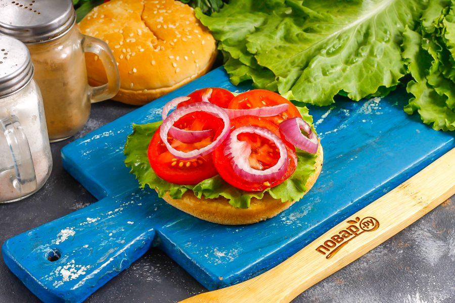 Бургер от Гордона Рамзи - фото шаг 7