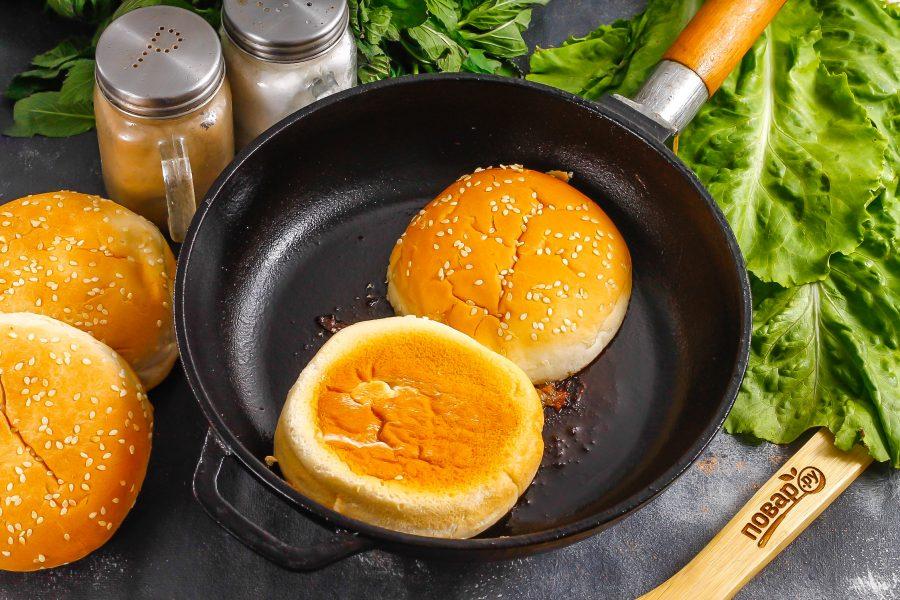 Бифбургер - фото шаг 4