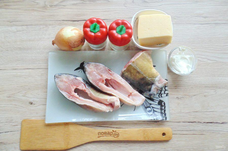 Карп с сыром в духовке - фото шаг 1