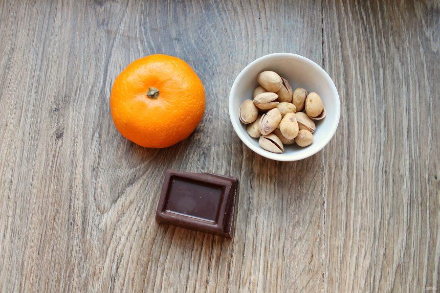 Мандариновые дольки в шоколаде - фото шаг 1
